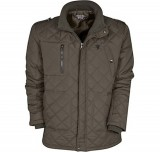 MANCHESTER UNITED HERITAGE QUILTED JACKET - KHAKI - MENS