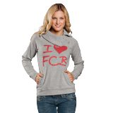 Lady Sweatshirt I love FCB