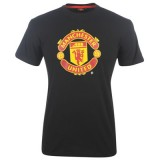 Manchester United F.C. T Shirt Mens  BLK