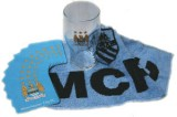 Manchester City F.C. Mini Bar Set