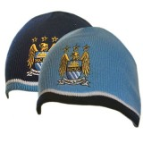 Manchester City F.C. Reversible Knitted Hat