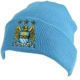 Manchester City F.C Knitted Hat TU Sky
