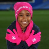 Chelsea Hat Scarf and Glove Set - Pink - Girls