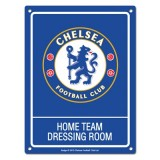 Chelsea Dressing Room Sign - 20cm x 15cm